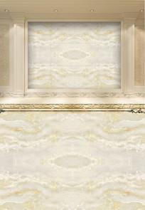 高温烧瓷砖欧式高清玉石画背景墙