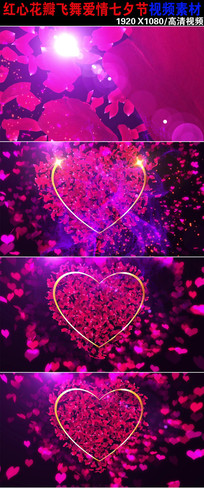 韩国风爱情婚礼背景视频下载