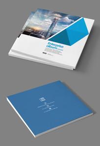 金融投资公司企业宣传册封面