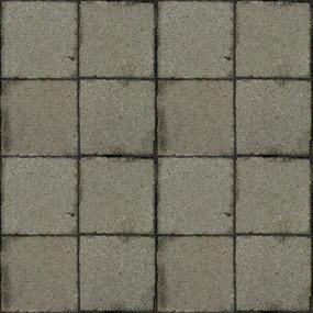 混凝土方砖贴图