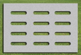 生态停车场地面平面贴图