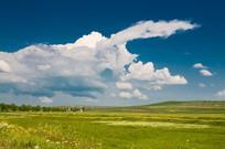 乡村艺术天空景观 JPG