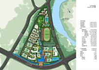 校园规划总平面图