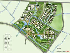 校园景观规划设计总平面图