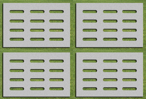 植草砖平面贴图
