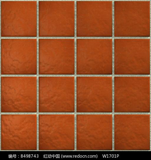 棕红色方格地砖贴图图片