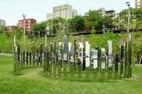 玻璃景观装置