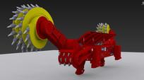 采煤机3D模型