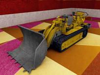 采煤装煤机3D模型