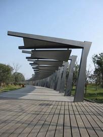 大型弧形长廊 JPG