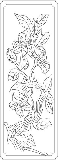 花卉雕刻设计