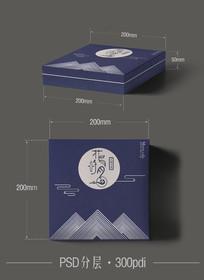 简约扁平化礼盒包装