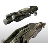 枪械3D模型