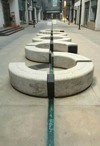 商业街休闲座椅意向图 JPG