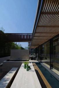 中式景观庭院长廊意向 JPG