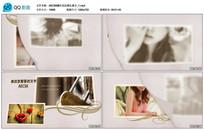AECS6翻页花纹婚礼展示视频 aep