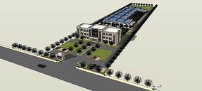 厂房办公楼规划设计