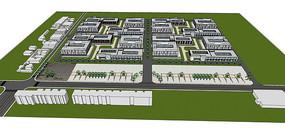 厂区规划方案