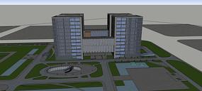 高层产业园建筑方案