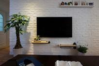 简约室内电视背景墙设计
