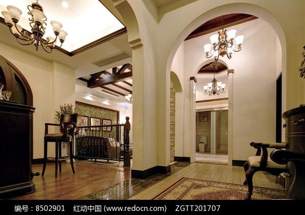 欧式别墅室内装修图片