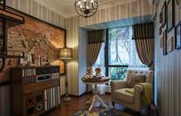 欧式风格家庭房间装修