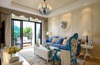 现代别墅客厅装修布置