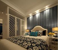 现代典雅卧室空间设计 JPG