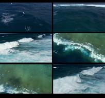 航拍海面视频