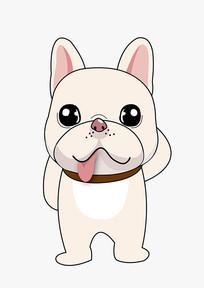 卡通宠物狗吉祥物