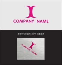 X字母LOGO标志设计