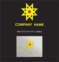 太阳LOGO标志设计 CDR