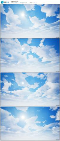 4k高清蓝天白云视频素材