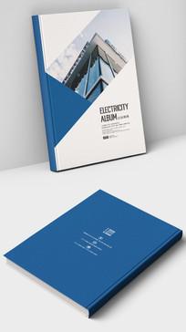 广告设计公司商业画册封面