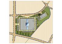 会展中心景观设计彩平