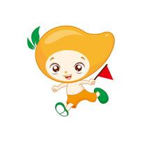 芒果卡通形象设计