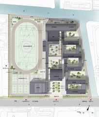 实验中心方案设计总平面图