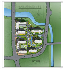 乡村住宅景观规划彩平