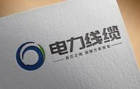大气简约电力行业公司logo