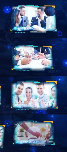 ae科技企业宣传片模板