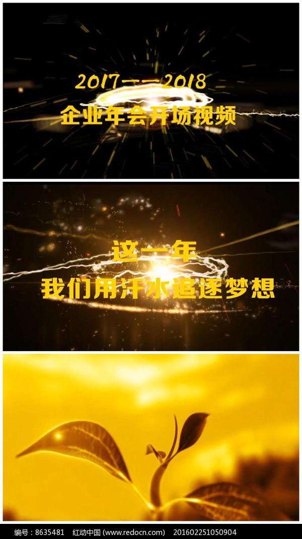 edius企业年会字幕视频图片