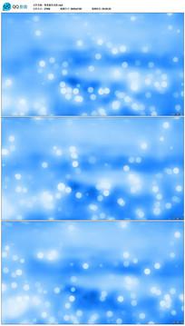 唯美蓝色光斑视频素材
