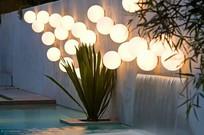 现代庭院球形景观灯 JPG