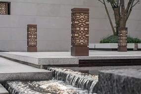 中式典雅园林灯具