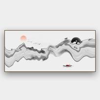 抽象意境水墨装饰画
