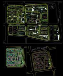 地产建筑cad园林平面图