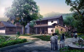 古村落景观改造效果
