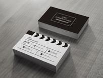 黑白电影名片设计