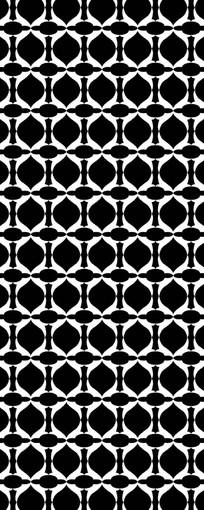 简洁黑白装饰图样