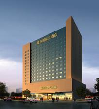酒店建筑设计效果图